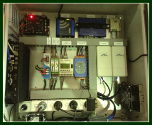 One of our PLC Control Systems in Perth
